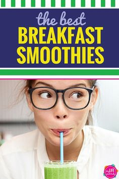 If you're looking for healthy fruit smoothie recipes for yourself or for kids, you'll love our five favorite recipes. Just toss some greens and fruit into your Ninja for an easy low calorie and yummy breakfast that's full of protein.