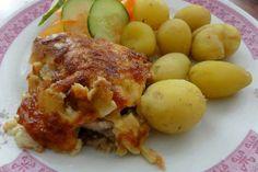 Jak připravit kuře zapečené se smetanou a sýrem   recept