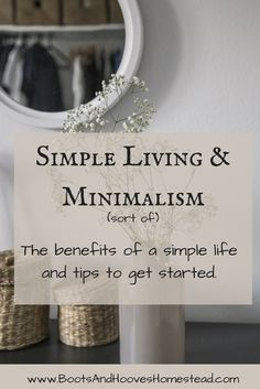I love the idea of minimalism. But something about the trendy or modern day idea of minimalism doesn't fit into my lifestyle. It works for many people, don't get me wrong, but it doesn't work for my family dynamic. Instead, we choose to live simply. To be organized, and live as sort of minimalists. What …