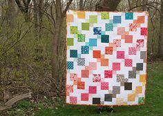 Kaleidoscopic Kites Front by Fresh Lemons : Faith, via Flickr      Tutorial to make this quilt!