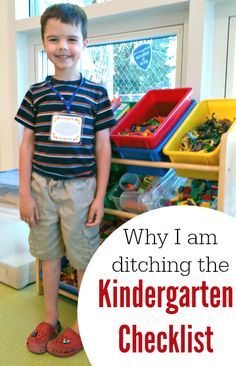 Kindergarten checklists too stressful for parents--and kids?