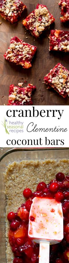 Blog post at Healthy Seasonal Recipes : Here is a favorite baking recipe for the fall and the winter holidays. Cranberry clementine fruit bars made with coconut.  I was reminded [..]