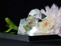 A personal favorite from my Etsy shop https://www.etsy.com/listing/522346149/enhydro-herkimer-diamond-chisel-tip