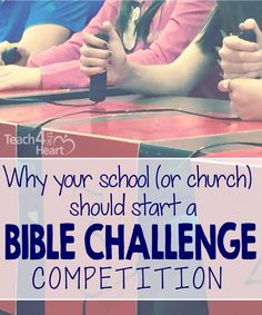 Bible trivia competitions are awesome for kids and teens. You can get a free set of questions here too.