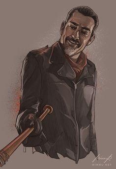 Negan, The Walking Dead by nirnalie on DeviantArt