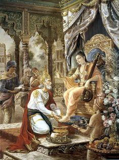 JesusM%nuel Ceped%Vertel All the Upanisads are like a cow, and the milker of the cow is Lord Shri Krishna, the son of Nanda. Arjuna is the calf, the beautiful nectar of the Gita is the milk, and the fortunate devotees of fine… Krishna Hindu, Hindu Deities, Radhe Krishna, Hanuman, Atlantis, Lord Krishna Wallpapers, Indian Paintings, Abstract Paintings, Art Paintings