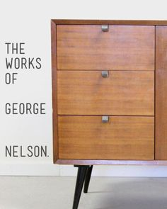 George Nelson's formidable career spanned a remarkable 50 years and to his credit, he left a long-lasting legacy of iconic designs that will never go away. During his time at Herman Miller, he brought in the likes of Charles Eames and Isamu Noguchi, some of the most well-respected designers working during that time. No matter what he designed, it left a lasting impression on the masses. Take a look at some of his best work.