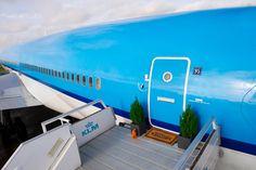 Spacious Airplane Apartment via AirBnb n KLM....