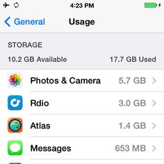"What Is ""Other"" on iPhone Storage? 