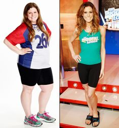 Rachel Frederickson was the season 15 winner of the Biggest Loser -- losing a record-breaking percent of her total body weight. Shrinking down from 260 pounds to just 105 pounds! What an inspiration! Before And After Weightloss, Weight Loss Before, Best Weight Loss, Weight Loss Tips, Weight Loss Motivation, Fitness Motivation, Fitness Quotes, Celebrity Bodies, Winner