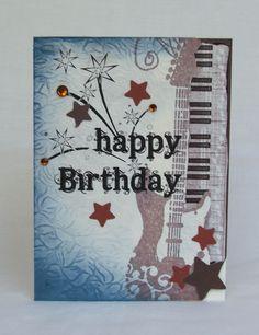 happy musical fourth of July birthday card