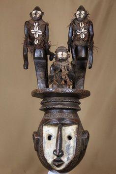 Large and imposing mask - BAMBARA - Mali - Catawiki