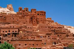berber village high atlas mountains morocco