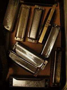 harmonicas. sounds like the blues: My daddy played when he had the time and a mouth harp of any condition, He was LBS, Sr.