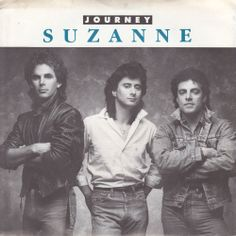 """Journey / Suzanne / Ask the Lonely / 7"""" Vinyl 45 RPM Jukebox Record & Picture Sleeve / Neal Schon / Steve Perry"""