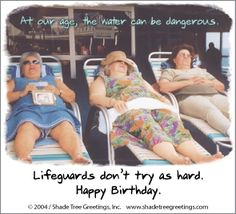"Humorous Birthday wish from ""Actual Pictures"" greeting card line at Shade Tree Greetings, Inc."