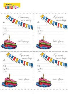 Zaproszenie na urodziny Happy Birthday Cards, String Art, Spiderman, Pikachu, Leo, Tatoo, Happy Birthday Greeting Cards, Spider Man, Lion
