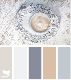 Love this palette! caffeine tones-- palette colors by design seeds, love this website! Palettes Color, Colour Pallette, Color Palate, Colour Schemes, Color Combos, Color Tones, Paint Palettes, Design Seeds, Wall Colors