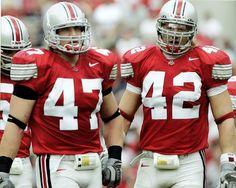 A J Hawk (47) & Bobby Carpenter (42)