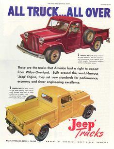 http://blog.jeep.com/wp-content/uploads/2011/06/1947-Jp-Willys-Overland-Trucks-ad-color.jpg