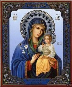 Our Lady and the Infant Jesus Religious Pictures, Religious Icons, Religious Art, Madonna Und Kind, Madonna And Child, Blessed Mother Mary, Blessed Virgin Mary, Queen Of Heaven, Mama Mary