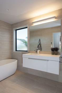 The sleek bathroom vanity Bathroom Designs, Living Area, Vanity, House Design, Bedroom, Ideas, Lush, Dressing Tables, Powder Room