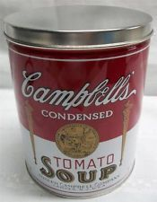 Large Campbell Soup Tin Canister - L@@K