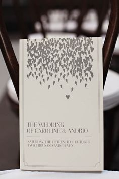 Wedding Invitations - It's all about the HEART ;)
