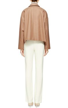 Oversized Wool Blend Jacket by ROCHAS Now Available on Moda Operandi