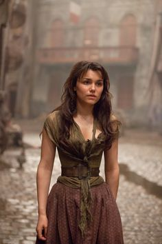 Eponine, my favorite character from Les Miserables. Whenever I see or read of her tragic story, my heart just mourns for her.