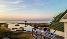 Sunset Cove on beautiful Chincoteague Island is just that - a true Vacation Experience. From the moment the sun rises until it sinks into the magical Chincoteague Bay, every moment at Sunset Cove is pure magic. Chincoteague Island Rentals, The Last Time, Sinks, Us Travel, Seaside, Sunrise, Magic, In This Moment, Vacation