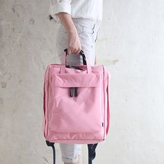 Travel Waterproof Nylon Storage Backpack Outdoor Women Men Unisex Handbag
