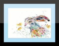 Printed to a high standard using the latest Epson Ink technology that's made to last. A1 Size, Epson Ink, Hare, Giclee Print, Fine Art Prints, Lounge Ideas, Landing, Illustration, Artwork