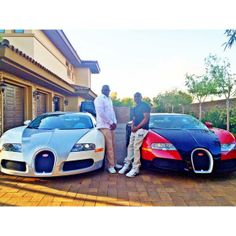 Floyd Mayweather with his #bugatti #luxury cars #floydmayweather