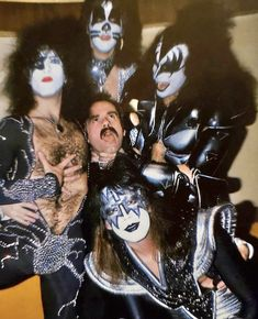 Kiss Photo, Paul Stanley, Kiss Band, Hot Band, Gene Simmons, Star Children, Classic Rock, The World's Greatest, Halloween Face Makeup