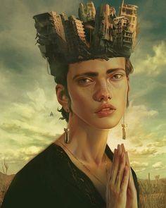 """surrealism At Perfection"": Haunting Illustrations Of Aykut Aydogdu - Art"