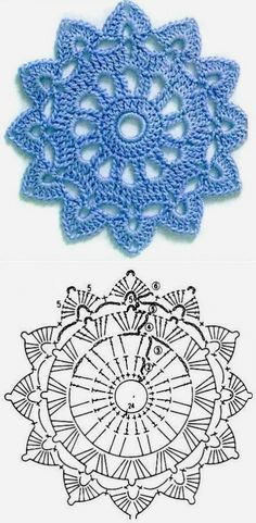 Good No Cost how to crochet diagram Concepts New Absolutely Free Crochet Doilies diagram Strategies Although lots of the doilies that you see in Free Crochet Doily Patterns, Crochet Earrings Pattern, Crochet Coaster Pattern, Crochet Doily Diagram, Crochet Circles, Crochet Motifs, Granny Square Crochet Pattern, Crochet Mandala, Crochet Chart
