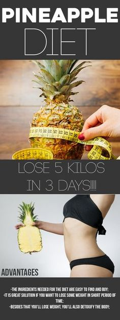 People usually think that losing weight in a short time can be an easy task. Some of the diets, in the beginning, show great results but in the end, they leave you disappointed and hungry. In this article we will present you a diet where one of the dominant ingredients is the pineapple. This tropical Continue Reading