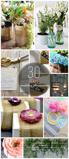 30 DIY Wedding Decorations on a Budget That Will Save You Lots of Cash!