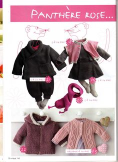 Ideal Tricot 148宝宝衣 - 紫苏 - 紫苏的博客 Knitting Magazine, Crochet Magazine, Pull Jacquard, Cool Baby Stuff, Baby Knitting, Knit Crochet, Catalog, Pattern, Kids