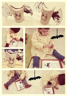 Proyecto de Halloween en el primer ciclo de educación infantil. Escuela Infantil Arco Iris de Santa Olalla del Cala