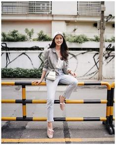 50+ Vacation Spring Outfit Like Korean Fashion Blogger » Educabit