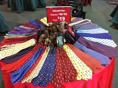 Ties, ties, ties! Keeneland Gift SHop Holiday Sale