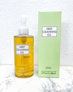 """I used to wash my face 3 to 4 times in an attempt to remove stubborn eye makeup, only to be left with eyeliner smudges & dry skin 🙅🏻‍♀️ Now I take the double cleansing approach using DHC cleansing oil followed by a gentle cleanser⁣.  The oil helps to remove makeup easily while leaving my skin nourished & clean 😊  Worth every penny 💕""⁣  - @ krisosophy⁣ Dry Face, Wash Your Face, Dhc Skincare, Oil Based Cleanser, Makeup Brush Cleaner, Deep, Waterproof Mascara, Cleansing Oil"