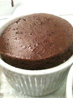 Genius Cafe: Vegan Chocolate Soufflé, low fat eggless