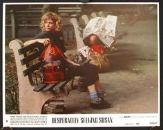 Fondly remembering the 1985 city tale starring Rosanna Arquette and an up-and-coming singer named Madonna. Desperately Seeking Susan, New York Movie, Alphabet City, Turning 30, Oral History, Creative Costumes, Movie Costumes, George Harrison, Daily Fashion