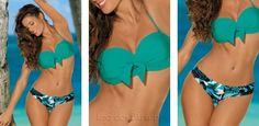 Bikini Suspiro Verde-caraíba