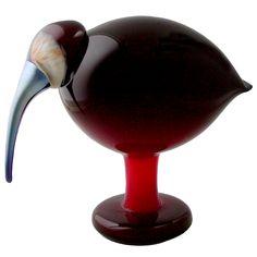 iittala Toikka Red Ibis $450.00