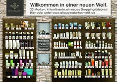 ALIQUA - online shopping via QR/mobile - Poster to shop