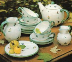 Gmundner Keramik (Erdinç Bakla archive) Dinnerware, Tea Pots, Tableware, Coffee Set, Cabinet, Dinner Ware, Dishes, Tea Pot, Place Settings